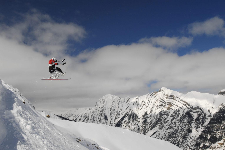 Josh Dueck: Backflipping Adaptive Skier
